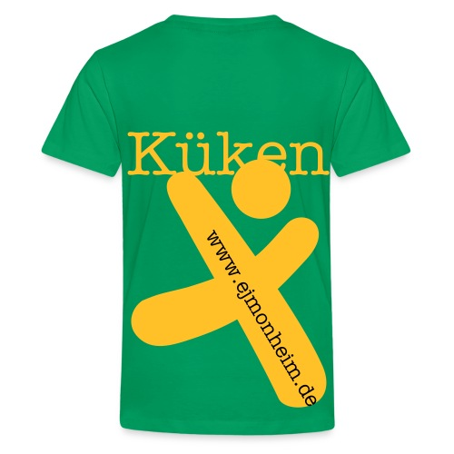 Küken 1 Kinderfreizeit 2011 - Teenager Premium T-Shirt