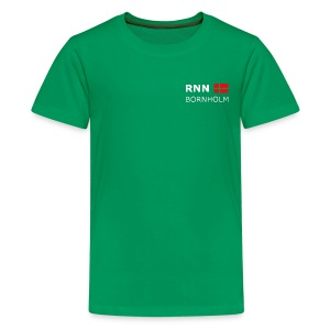 Teenager T-Shirt RNN BORNHOLM white-lettered - Teenage Premium T-Shirt