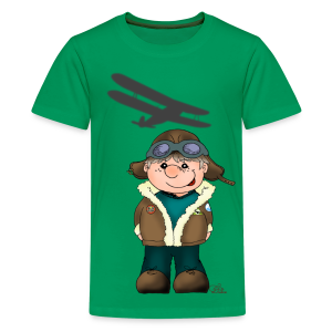 KinderShirt Quaggs, der Bruchpilot - Teenager Premium T-Shirt