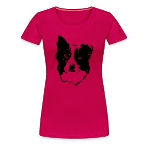 Frauen Premium T-Shirt - Agility weltmeister,Border Collie,Dog Dancing,Flyball,Hund,Hunde Shirts,Jaeger,Longieren,Loyal Canin,Obedience,Outfit,Rassehund,Retriever,Rettungshund,Royal,T-Shirt,Team-Test,aus,chien,dog,platz,sitz,spread shirt,steh,vorstehen