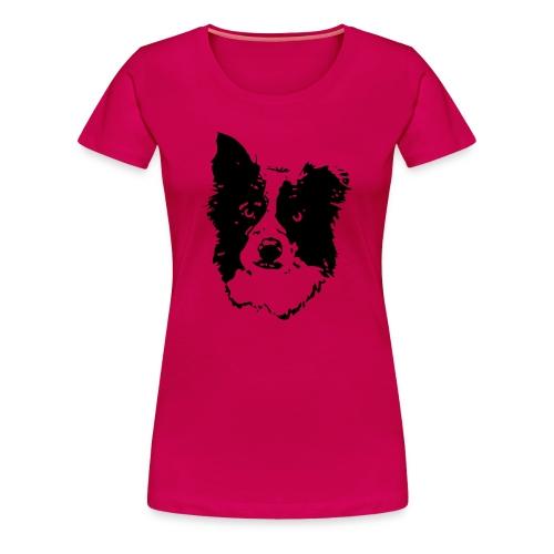 Frauen Premium T-Shirt - vorstehen,steh,spread shirt,sitz,platz,dog,chien,aus,Team-Test,T-Shirt,Royal,Rettungshund,Retriever,Rassehund,Outfit,Obedience,Loyal Canin,Longieren,Jaeger,Hunde Shirts,Hund,Flyball,Dog Dancing,Border Collie,Agility weltmeister