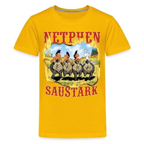 Netphen - Saustark - Teenager Premium T-Shirt