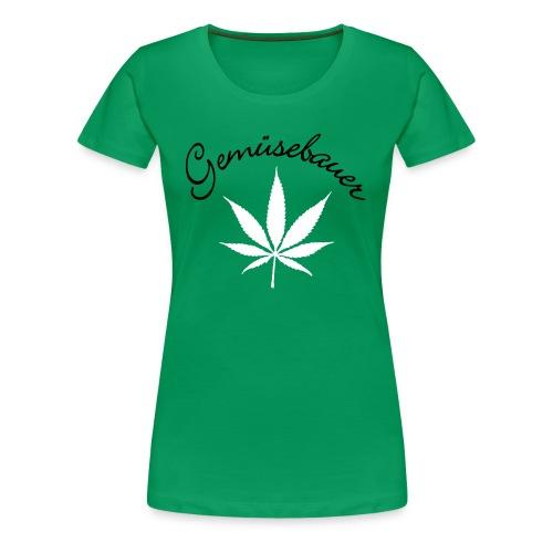 Gemüsebauer - Frauen Premium T-Shirt