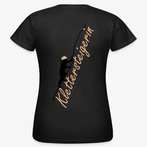 Klettersteigerin (women) - Frauen T-Shirt