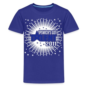 Ipswich's Got Talent 2011 - Teenage Premium T-Shirt