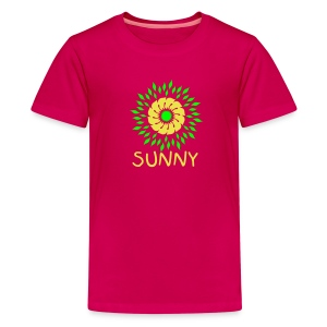 Sunny girl - Teenager Premium T-Shirt