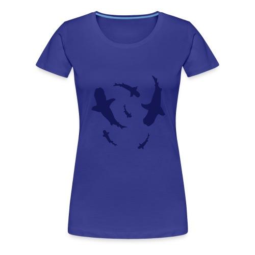 Fish are Friends - Women's Premium T-Shirt
