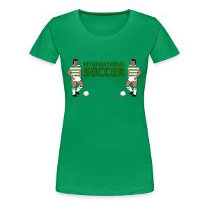 International Soccer - Women's Premium T-Shirt