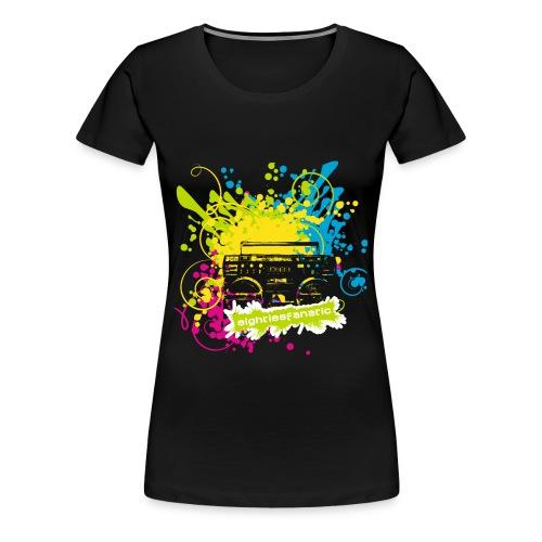 Frauen Premium T-Shirt - Damen T-Shirt mit bedruckter Vorderseite