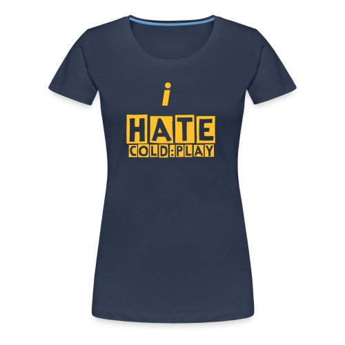 Cold hate - Women's Premium T-Shirt