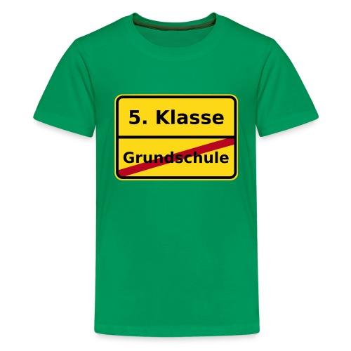 Grundschule - Teenager Premium T-Shirt
