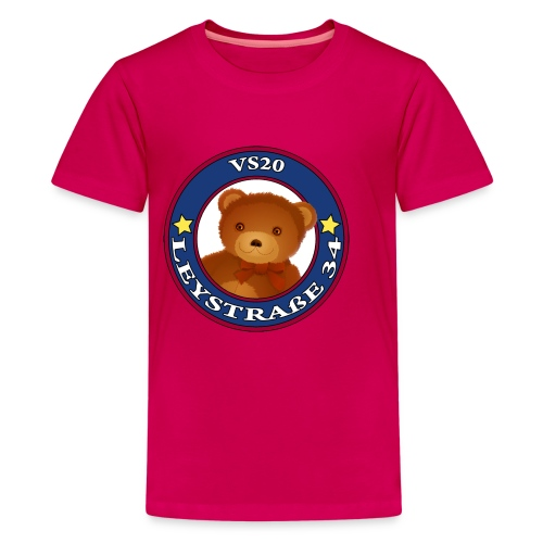 Teddy pink - Teenager Premium T-Shirt