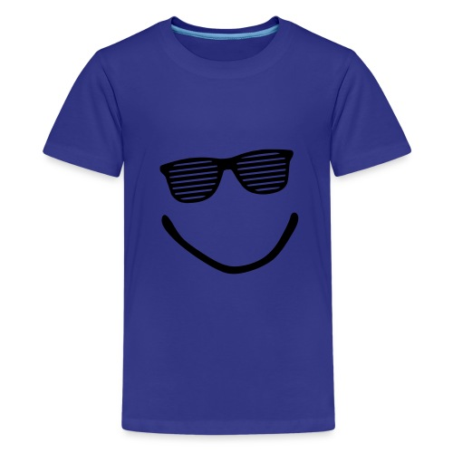 Blue boy t-shirt shades - Teenage Premium T-Shirt
