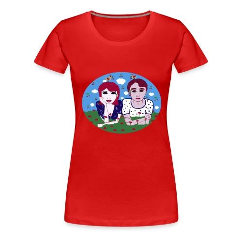 I want the cherry - Frauen Premium T-Shirt