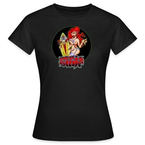 devil surf 2 - Frauen T-Shirt