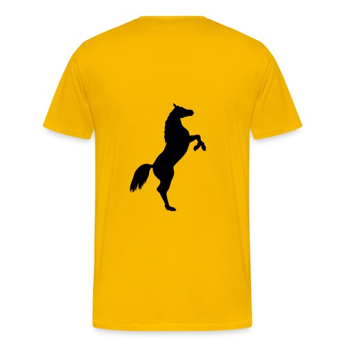 Flash gelb - Männer Premium T-Shirt