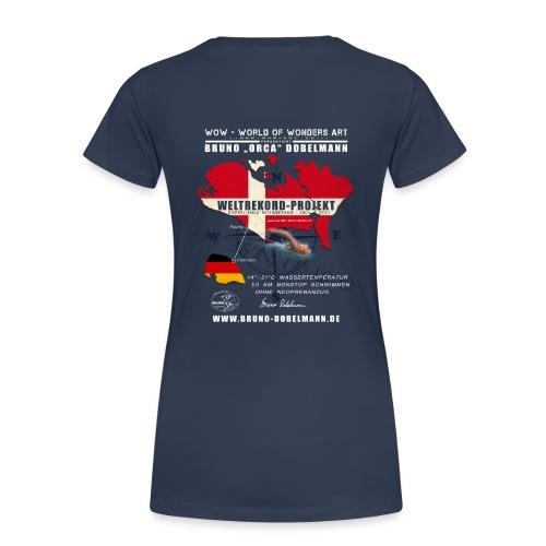 Girlie-Shirt Weltrekord Projekt Doppel-Solo-Beltquerung - Frauen Premium T-Shirt