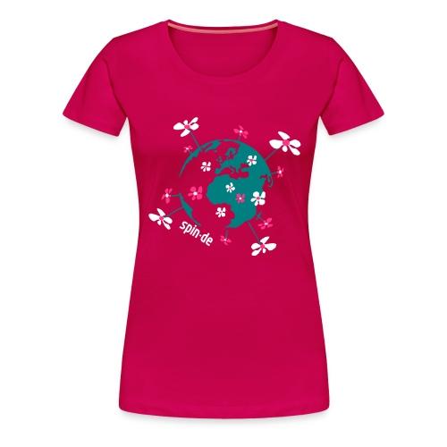 Unsere Erde Shirt Girl - Frauen Premium T-Shirt