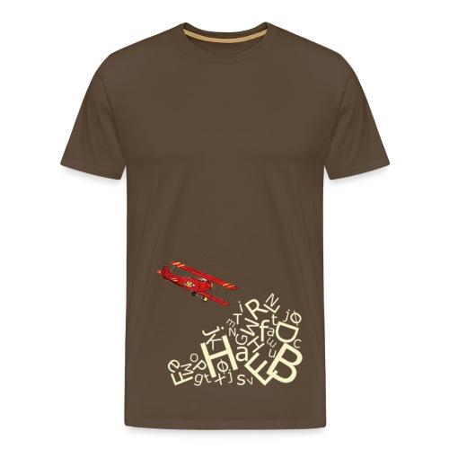 Flyver ABC, klassisk tee - Men's Premium T-Shirt