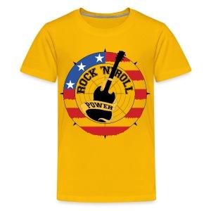 Kindershirt Rock - Teenager Premium T-shirt