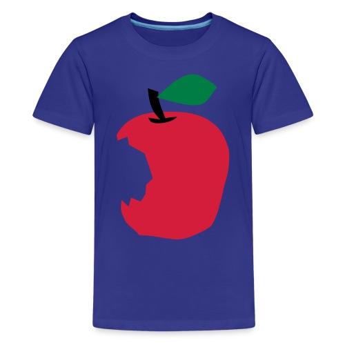 Apple - Camiseta premium adolescente