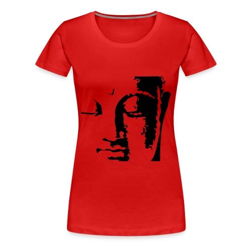 Buddha Head short sleeve Tee - Women's Premium T-Shirt