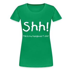 Hangover, Female - Women's Premium T-Shirt