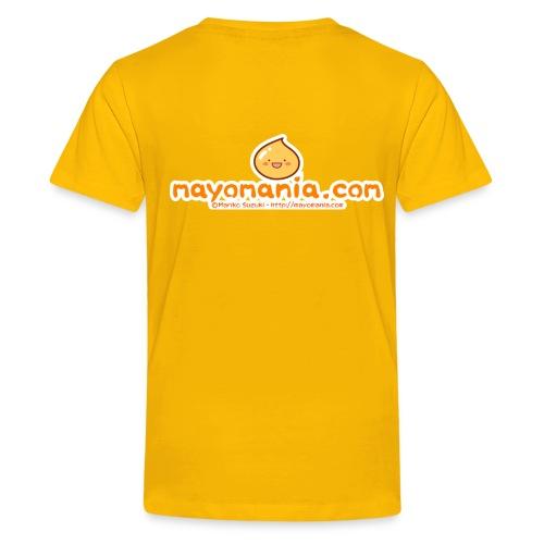 Mayopy face - Teenage Premium T-Shirt