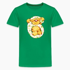 Sweet little bear and the 6 Kids' Shirts