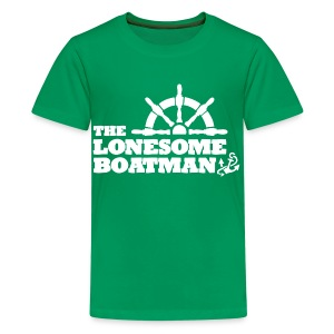 The Lonesome Boatman - Teenage Premium T-Shirt