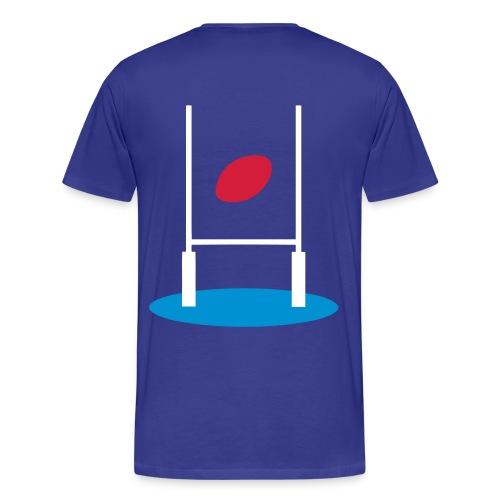 t-shirt sport rugby design - T-shirt Premium Homme