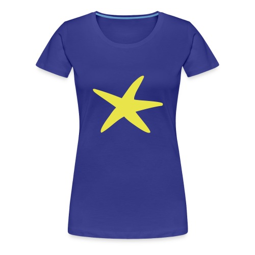Camiseta RF estrella-mujer - Camiseta premium mujer