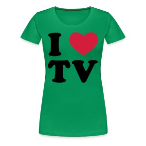 i love tv - Women's Premium T-Shirt