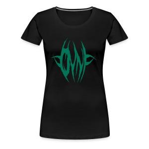 OVNI Green Girl - Women's Premium T-Shirt