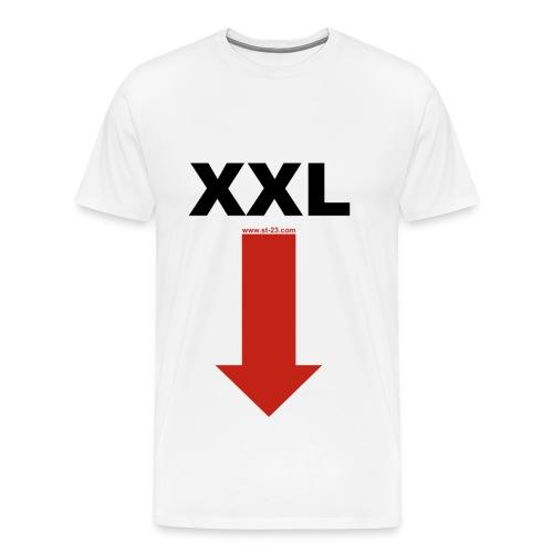 XXL - Mannen Premium T-shirt