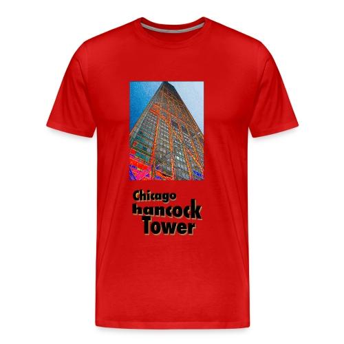 Chicago hancock tower - Männer Premium T-Shirt