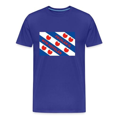 T-shirt met Friese vlag - Mannen Premium T-shirt
