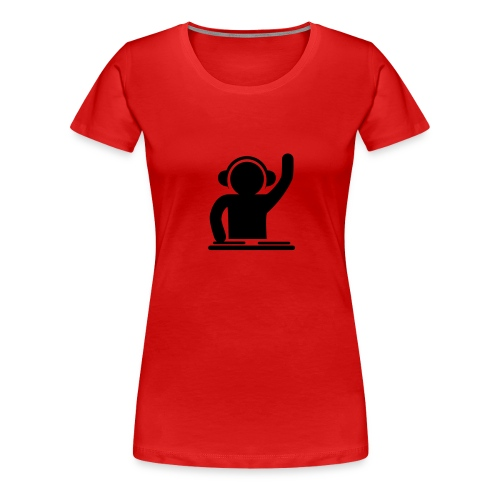 headphone - Women's Premium T-Shirt