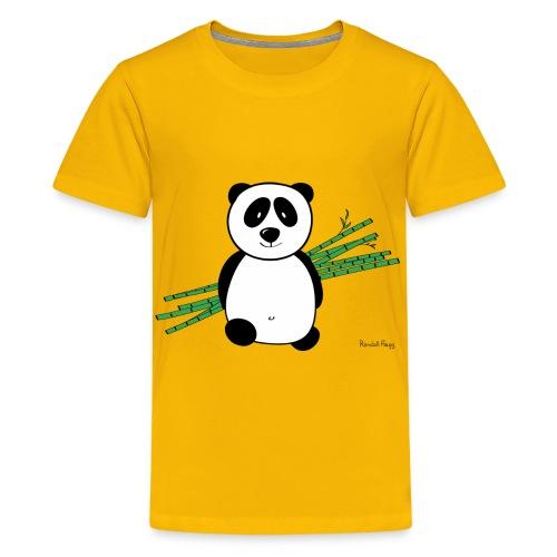 Lolly le Panda pour les p'tits - T-shirt Premium Ado