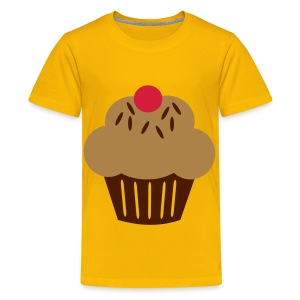 Cup Cake - Teenage Premium T-Shirt
