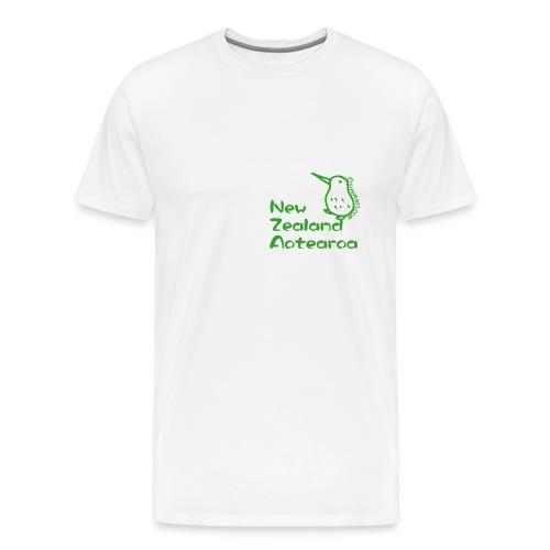 New Zealand's Map - Men's Premium T-Shirt