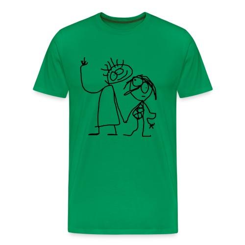 Latenter Hinweis - Männer Premium T-Shirt