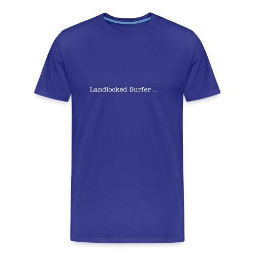 Landlocked Surfer T shirt - Men's Premium T-Shirt