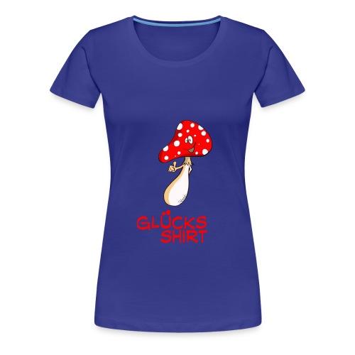 Glücksshirt  - Frauen Premium T-Shirt