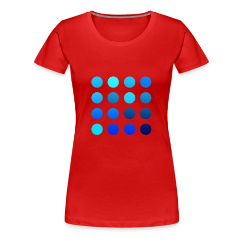 Simple Dotz - GIRLIE - Frauen Premium T-Shirt