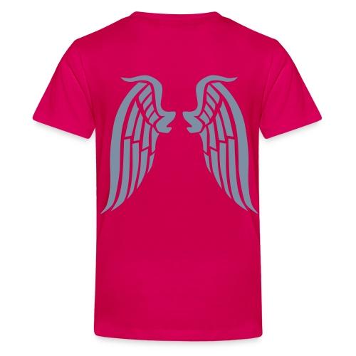 Children's 'Little Angel' t'shirt - Teenage Premium T-Shirt