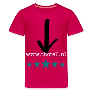 T-Shirt 100% katoen - Teenager Premium T-shirt