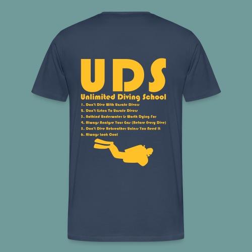 TS DIR Rules 03 - T-shirt Premium Homme