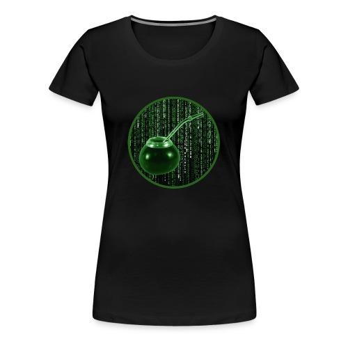 Girlieshirt The Materix - Frauen Premium T-Shirt