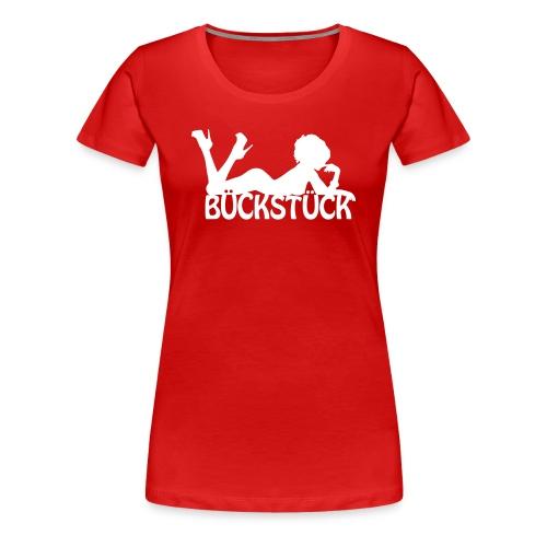 Shirtmotiv Bückstück V1 - Frauen Premium T-Shirt
